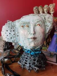 This is by Cat it is a bust of son